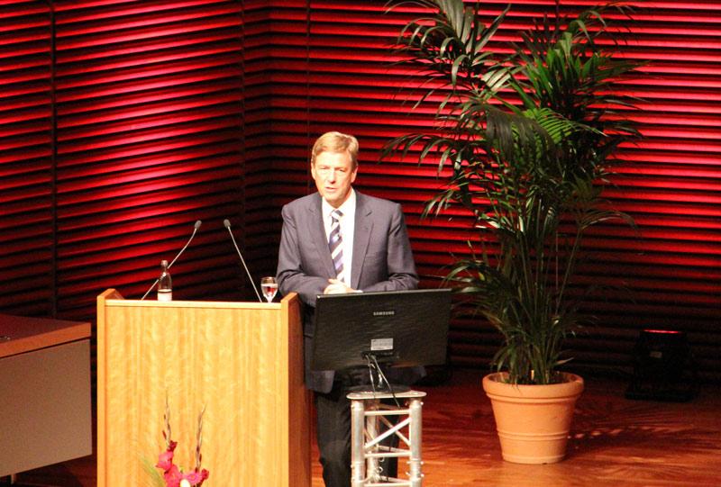 Claus Kleber zu Gast beim Forum der Sparkasse Mittelthüringen 2012