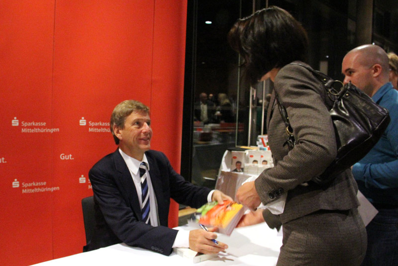 Claus Kleber zu Gast beim Forum der Sparkasse Mittelthüringen 2012 ...