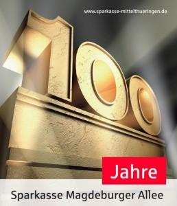 Geschäftsstelle Magdeburger Allee feiert 100-Jähriges