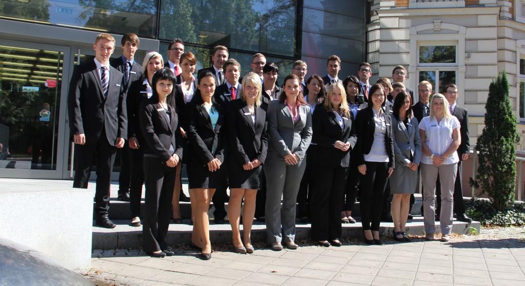 Ausbildungsbeginn für 26 Berufsstarter bei der Sparkasse Mittelthüringen
