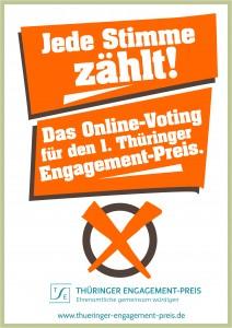 1. Thüringer Engagement-Preis 2013 – Online-Voting