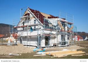 Häuserbau mit allem Drum und Dran
