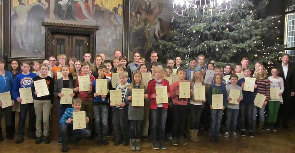 Junge Erfurter Mathematiker stellen zum 54. Mal ihr Können unter Beweis
