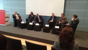 Diskussionsrunde beim Forum