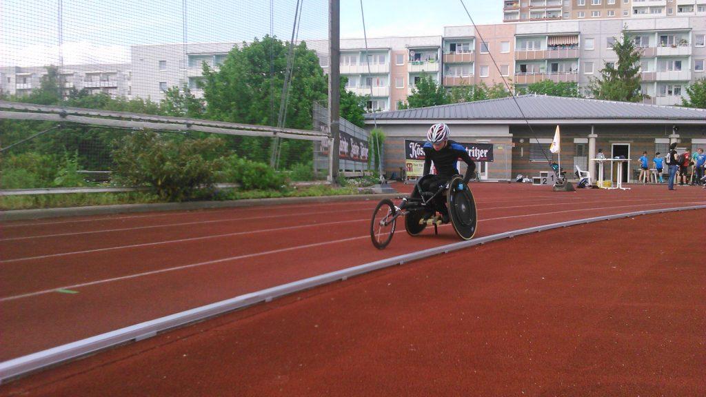 Maximilian Heilek über seine Erfolge im Rennrollstuhlsport