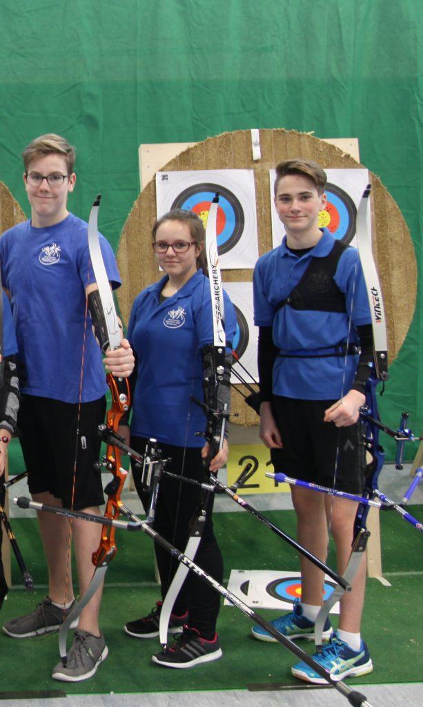 Drei Weißenseer Bogenschützen fahren zur deutschen Meisterschaft