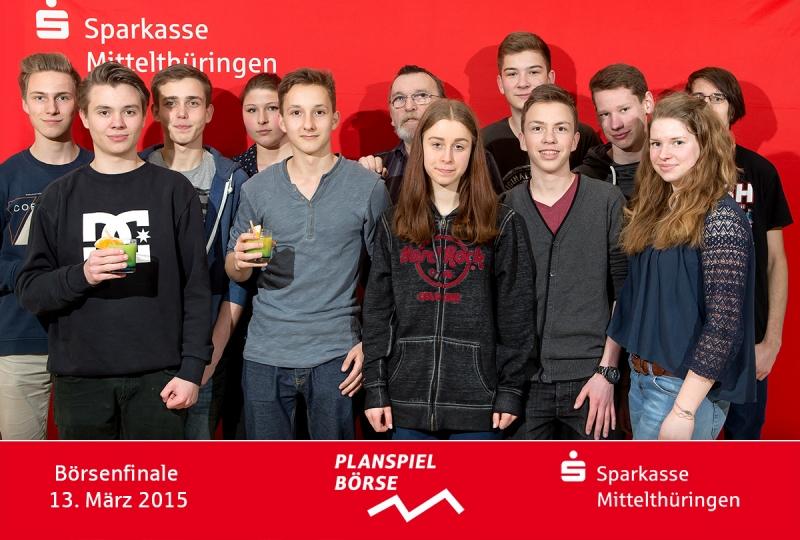 """Alle Teilnehmer vom Gymnasium """"Prof. Hofmann"""" Kölleda"""