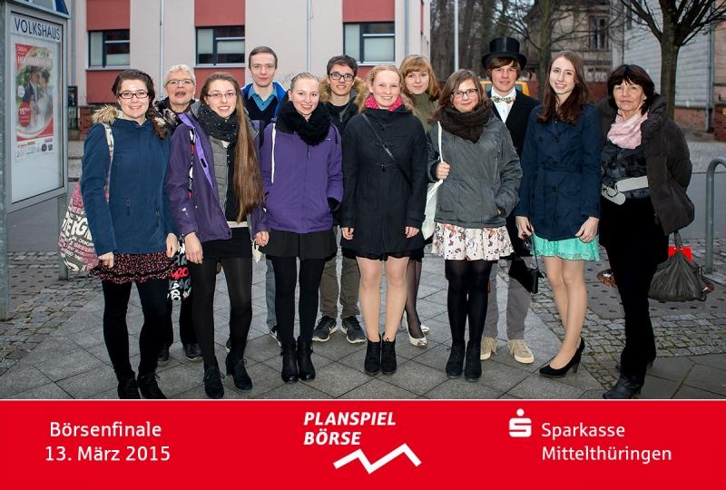 Alle Teilnehmer vom Marie-Curie-Gymnasium Bad Berka