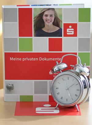 Kontowecker der Sparkasse Mittelthüringen
