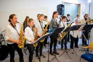 "JugendBigBand ""Big Jambory"" in Aktion"