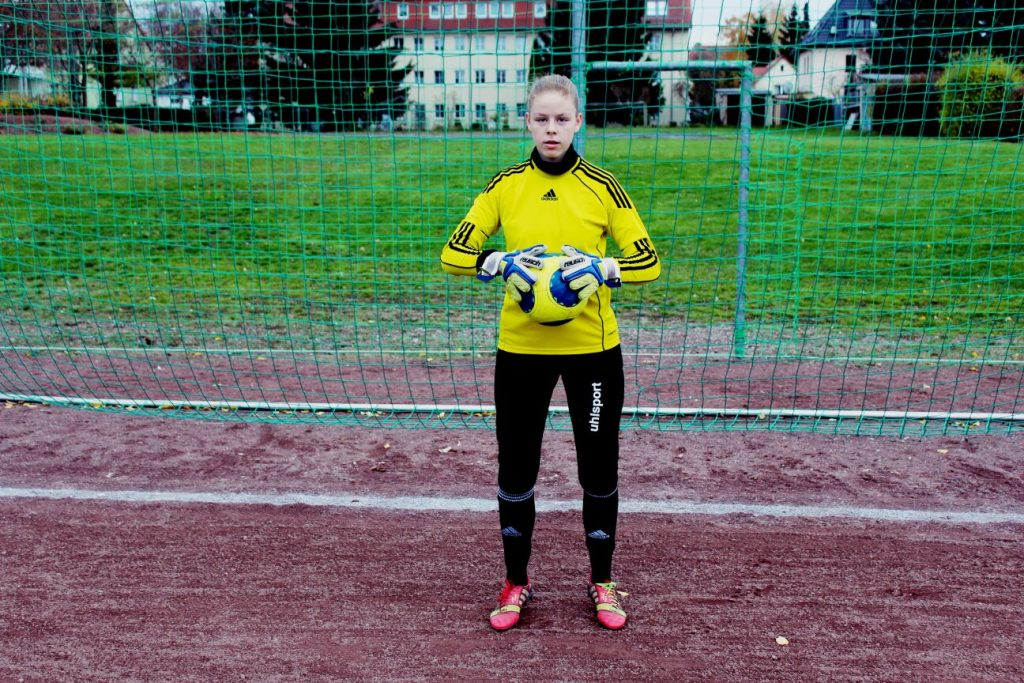 Lotta Rieger beim Training