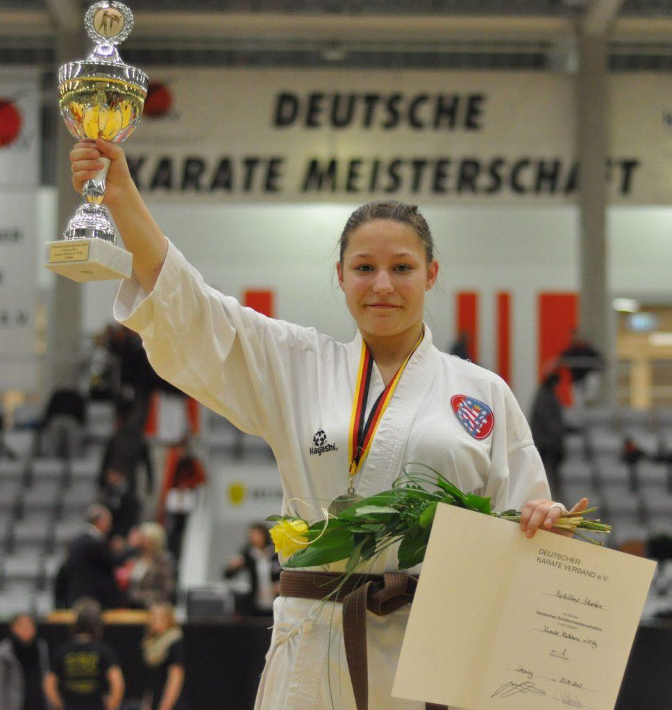 Siegerin DM 2012