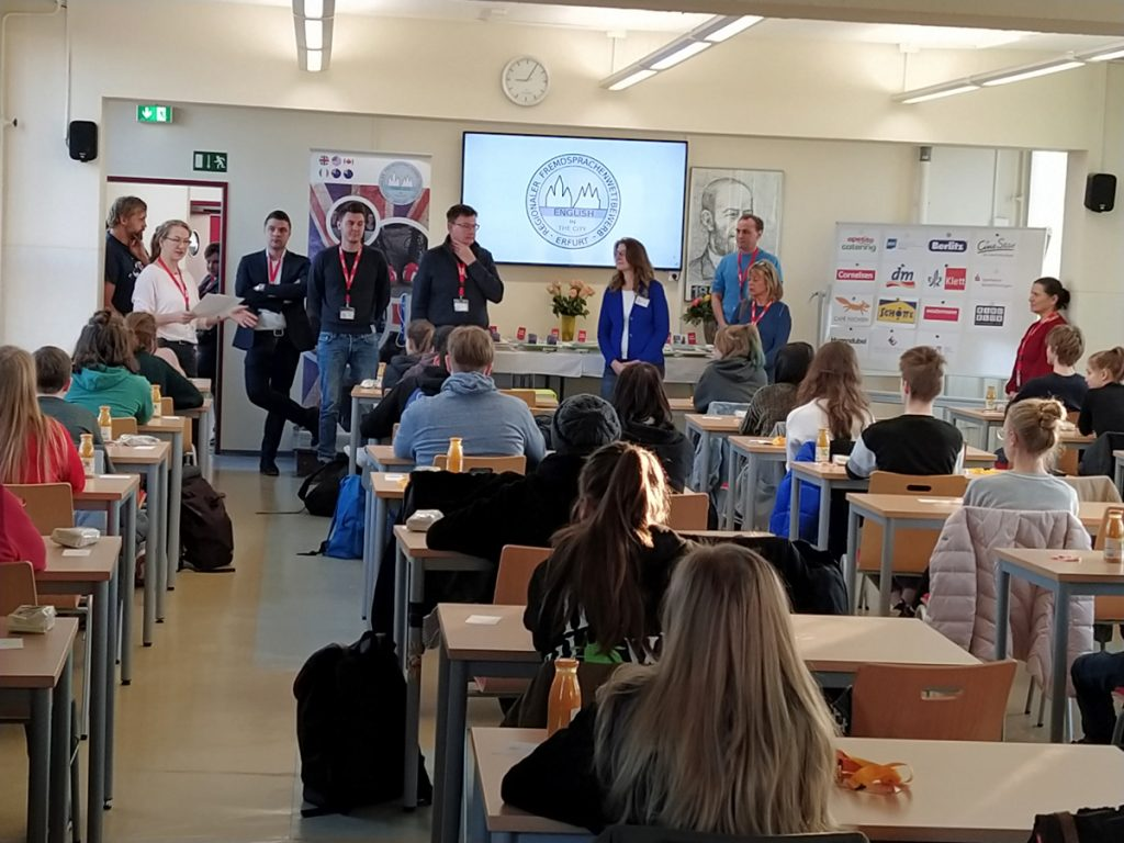 """English in the City"" – und im Heinrich-Hertz-Gymnasium"