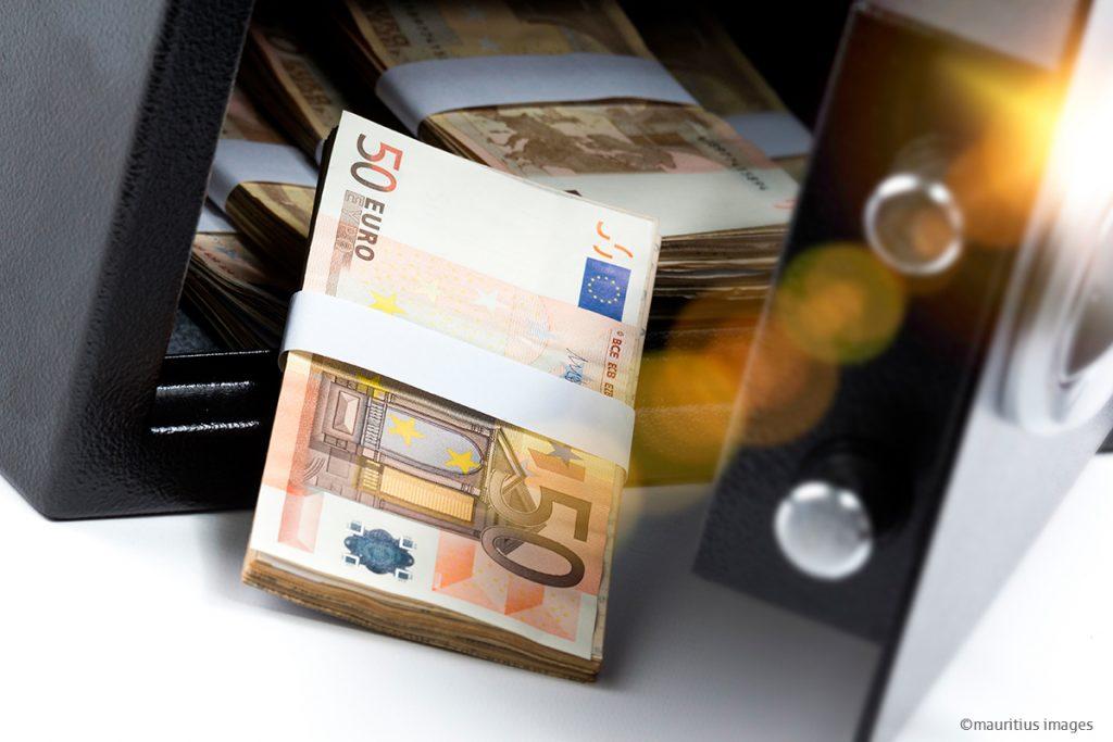Ist Bargeld zu Hause eigentlich versichert?
